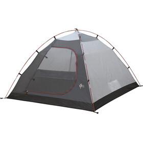 High Peak Nevada 5 Tent Dark Grey/Red